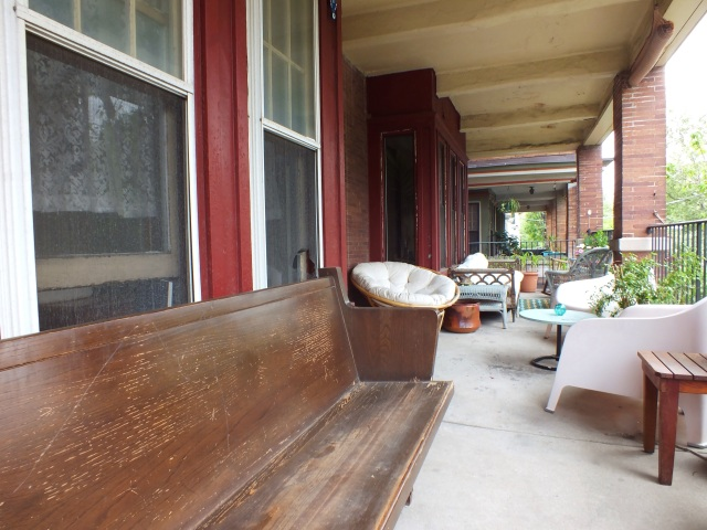 Balcony before