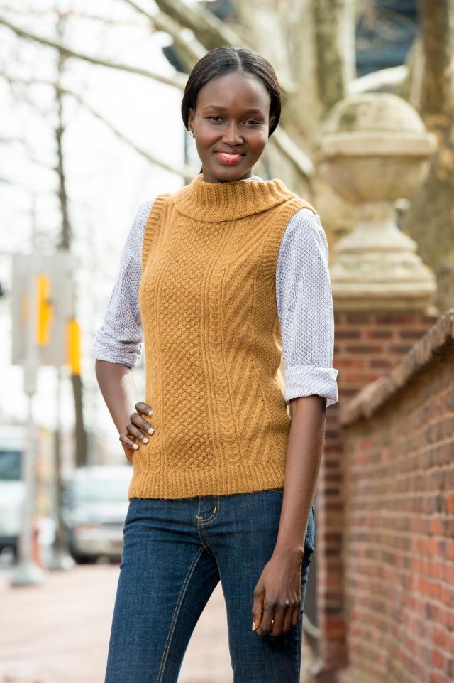 Harvey knit vest