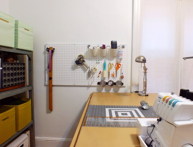 Pegboard organization | The Projectory