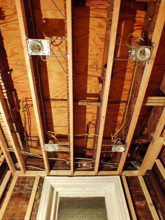bathroom renovation electric progress